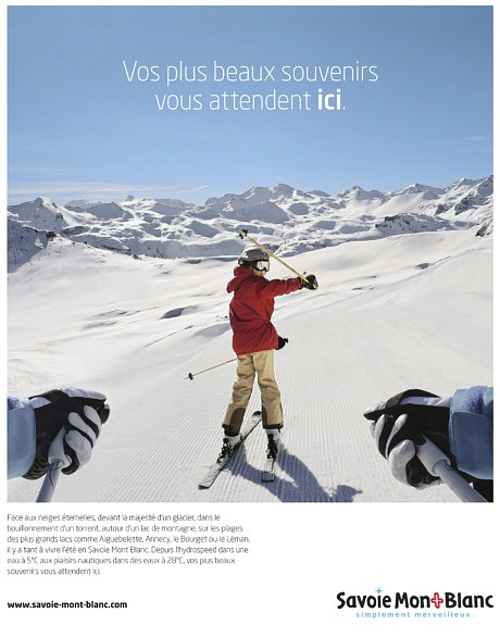 Advertising campaign for Savoie-Mont-Blanc