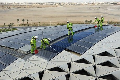 Masdar – A Green City in the Land of Black Gold