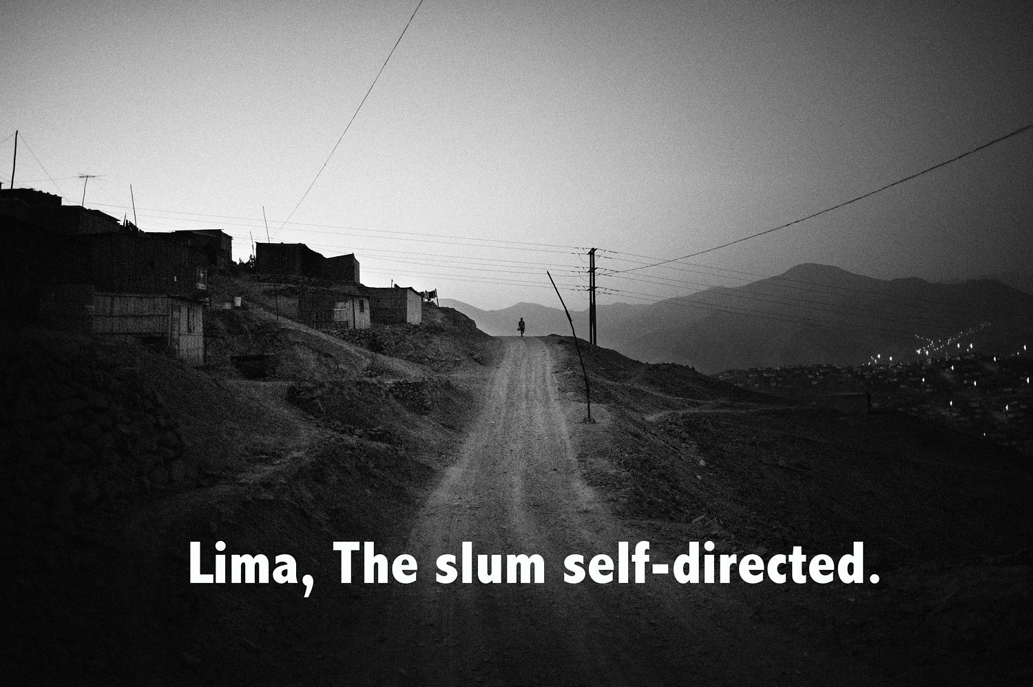 Webdocumentaire | The slum self-directed - Lima<br />